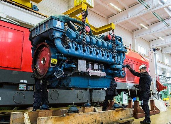 Baltic Marine Group AS, MTU Rail