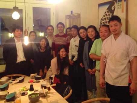 【イベント報告】隅田さんを囲んでの食事会