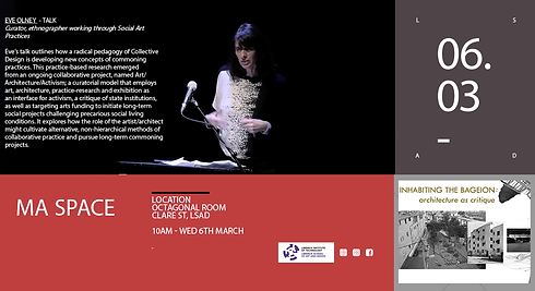 MA programme socially engaged art, Limerick, Ireland