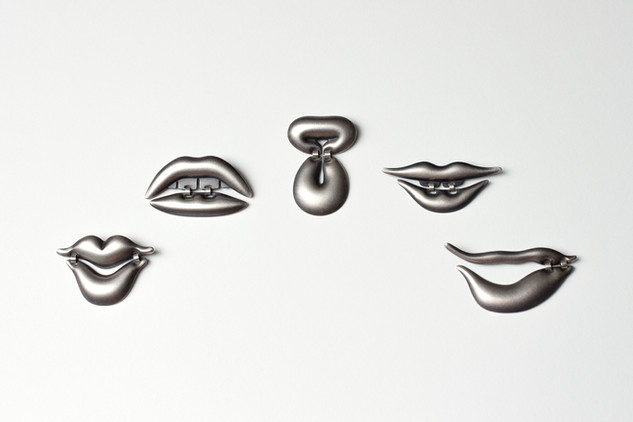 Lip Brooches (limited edition)