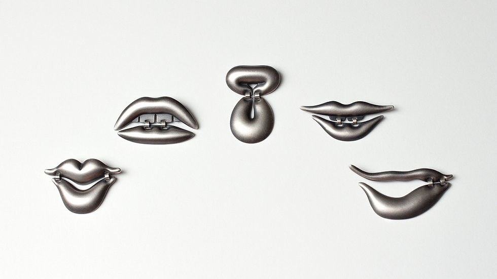 Lip Brooches