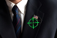 A.R. Target Brooch