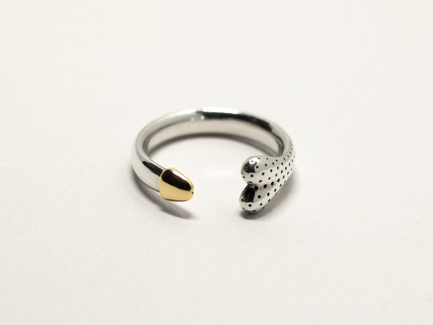 Gold Tipped Penus Ring