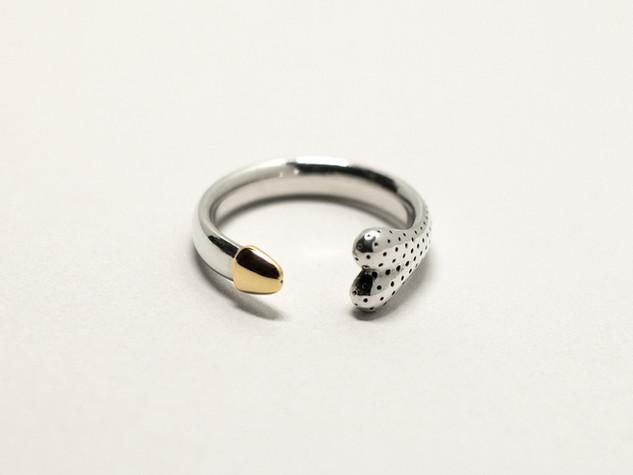 Gold Tipped Penus Ring
