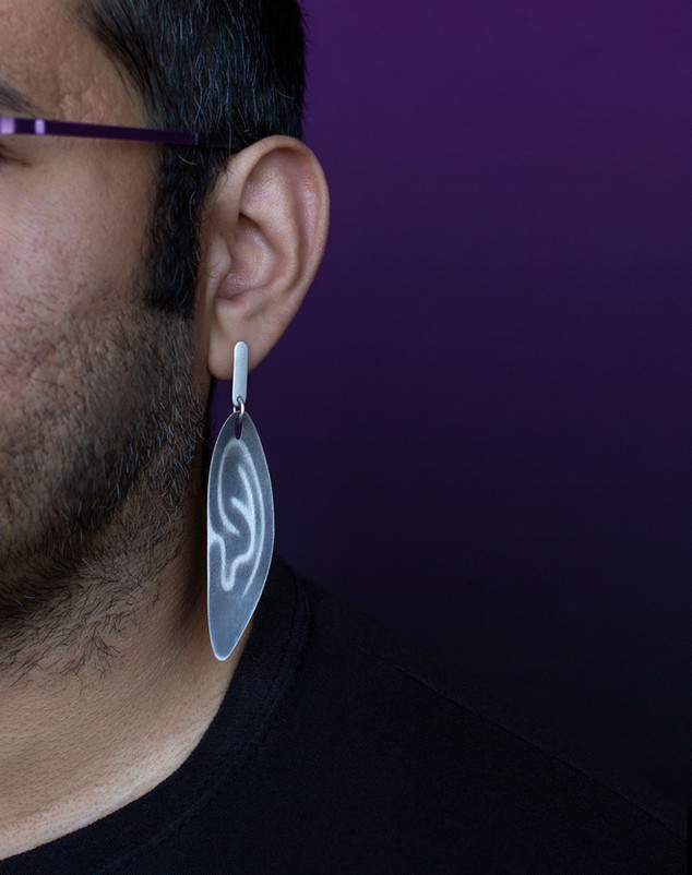 Stretched Ear Earrings