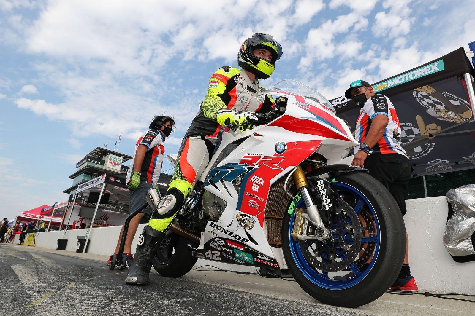 Motoamerica Indy Jeremy Coffey Speed Mon