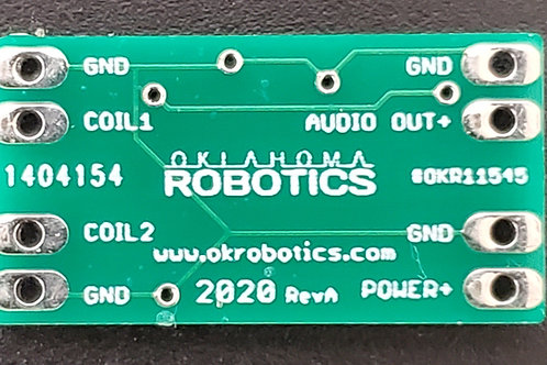 Dual Coil BFO Metal Detector (#OKR11545)