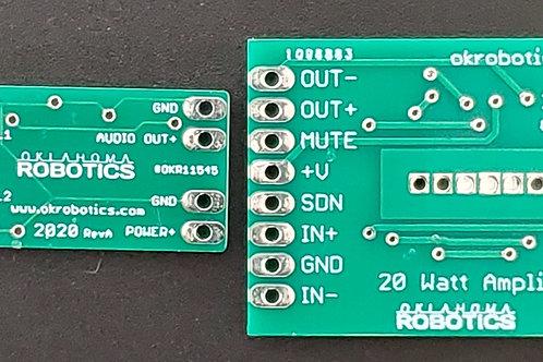 Metal Detector and 20 Watt Amplifier