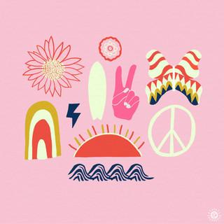 Peace + Harmony + Surf