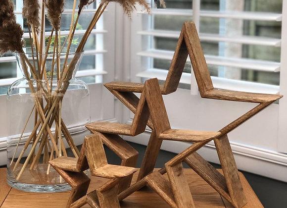 Wooden stars