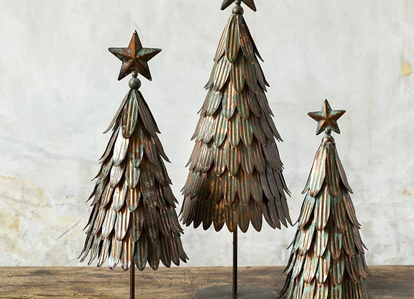 Vintage Metal Trees (Available in 3 sizes)