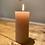 Thumbnail: Rustic Pillar Candle - dusty rose