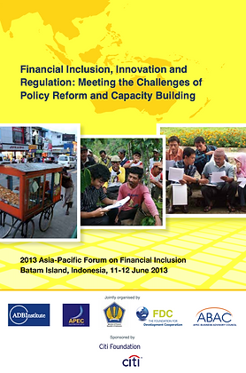 Meeting the Challenges of Policy Reform and Capacity Building, 2013