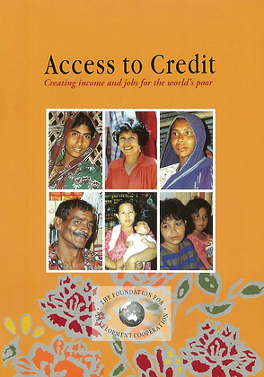 Access to credit - creating income and jobs for the poor, 1993