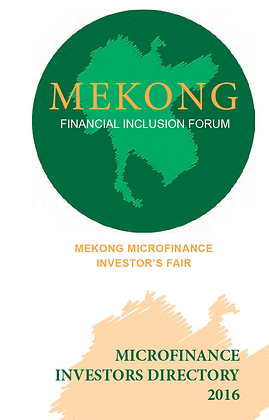 Mekong Financial Inclusion Forum- Investors Fair, 2016