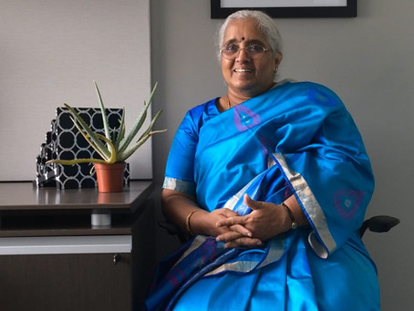 Viji Das - inspirational microfinance industry leader and advocate of the poor.