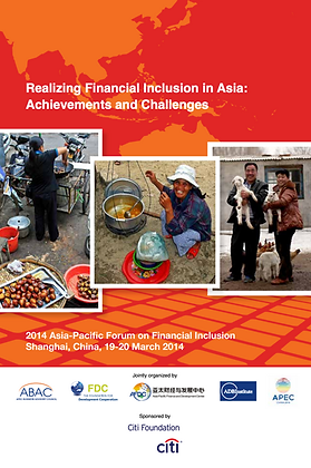 Realizing Financial Inclusion in Asia: Achievements and Challenges, 2014