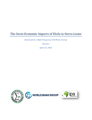 The Socio-Economic Impacts of Ebola in Sierra Leone