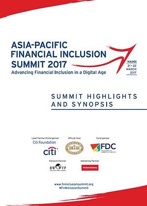 Asia-Pacific Financial Inclusion Summit, 2017
