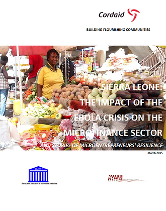 The Impact of the Ebola Crisis on the Microfinance Sector