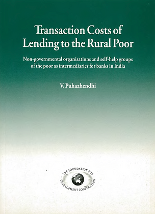 Transaction costs of lending to the poor India, 1995