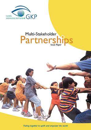 Multi-Stakeholder Partnerships