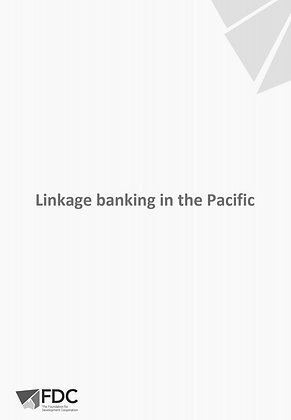 Linkage Banking in the Pacific, 2016