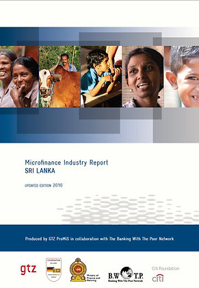 Microfinance Industry Assessment SRI LANKA, 2010
