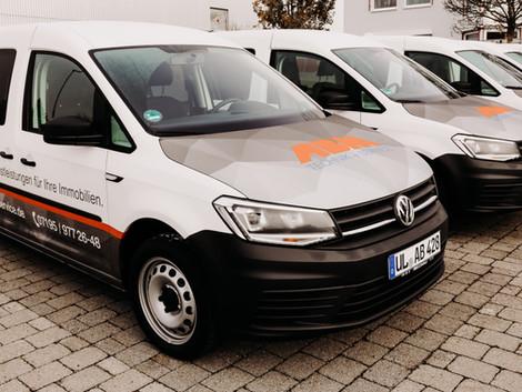 Neue Fahrzeuge für ABM