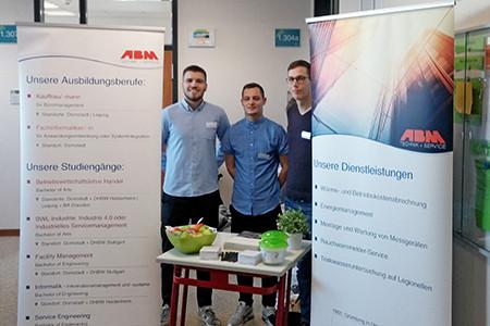 ABM als Ausbildungsbetrieb und Arbeitgeber kennenlernen