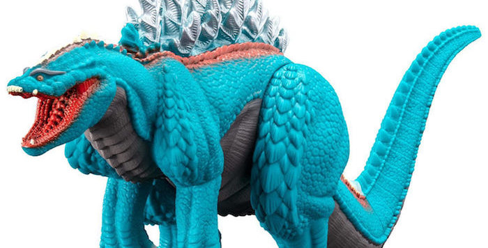 "Bandai 6"" MMS Godzilla Terrestris Singular Point"
