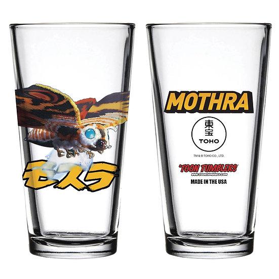 TOON TUMBLERS MOTHRA PINT GLASS