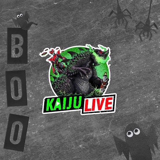 Kaiju Live Bubble-free stickers