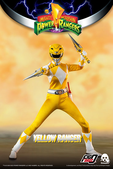 MMPR YELLOW RANGER 1/6 SCALE AF