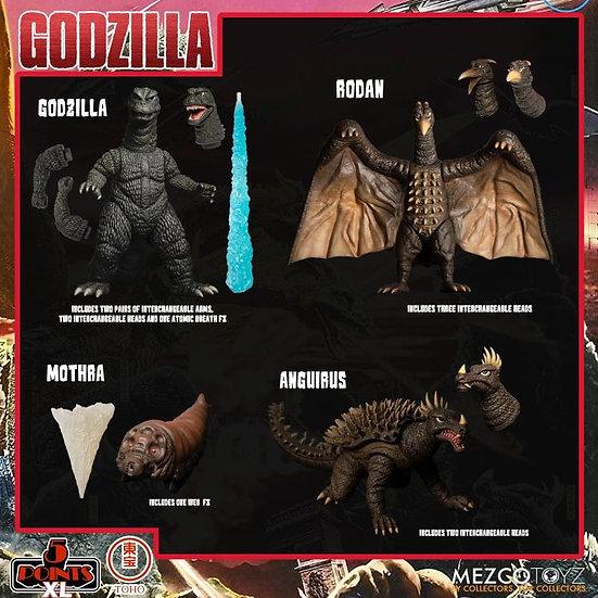 Mezco 5 Points XL Destroy All Monsters  DX Boxed Set 1