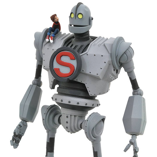 "DIAMOND 9"" IRON GIANT SELECT ACTION FIGURE"
