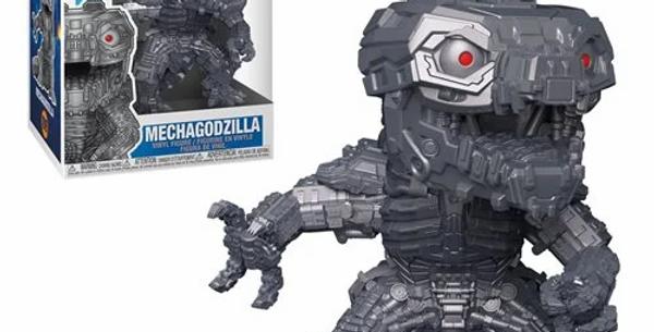 POP MOVIES Godzilla vs. Kong Mechagodzilla (Metallic) Vinyl Figure