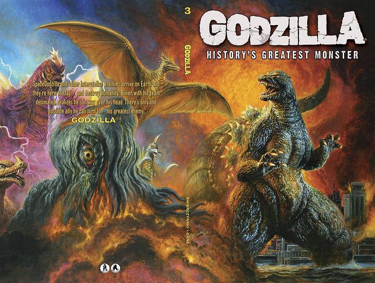 GODZILLA HISTORYS GREATEST MONSTER TP