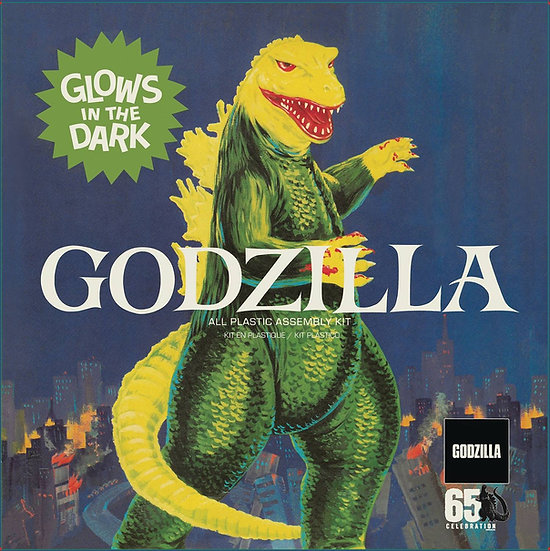 GODZILLA AURORA 1/500 SCALE MODEL GID KIT