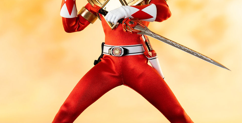 POWER RANGERS DRAGON SHIELD RED RANGER PX 1/6 SCALE