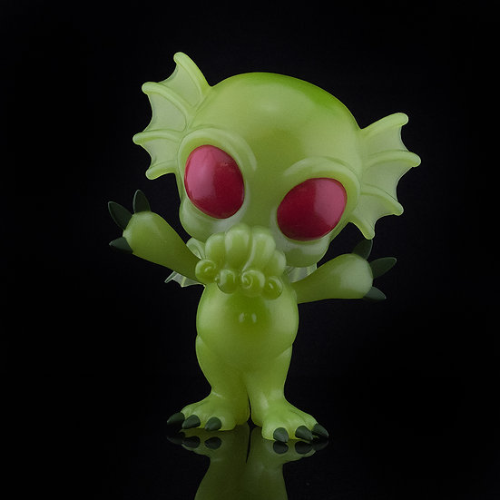 HCF 2020 CRYPTKINS UNLEASHED CTHULHU GID PX 5IN VINYL FIG
