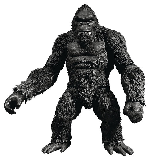 "MEZCO TOYS KING KONG OF SKULL ISLAND PX 7"" ACTION FIGURE B&W VERSION"