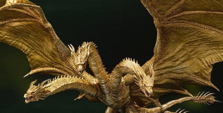 S.H.MonsterArts King Ghidorah (Special Color Version)