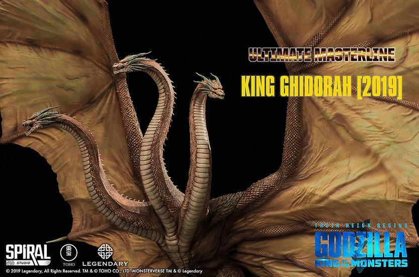 King Ghidorah Statue - Standard Edition | Spiral Studios