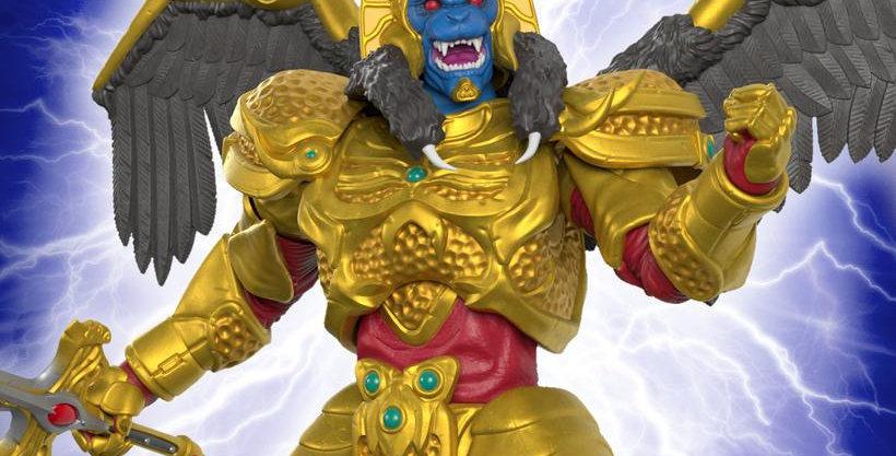 POWER RANGERS ULTIMATES GOLDAR ACTION FIGURE
