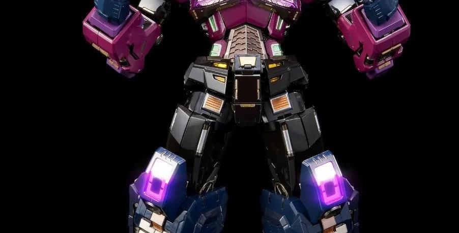 """Shattered Glass Optimus Prime """"Transformers"""", Flame Toys Kuro Kara Kuri"""