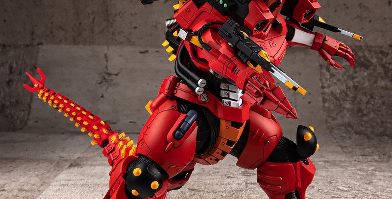 Godzilla vs. Evangelion Type-3 Kiryu EVA Unit-02 Color Ver. Model Kit