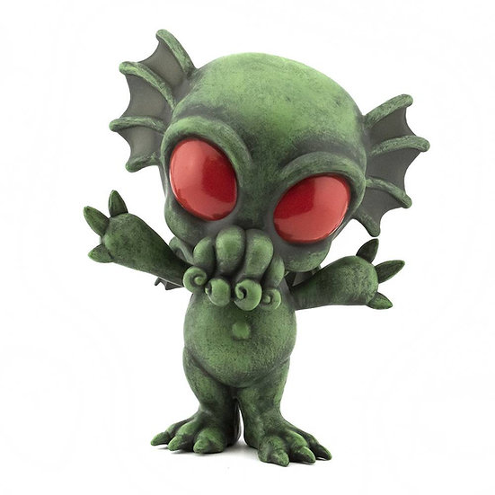 HCF 2020 CRYPTKINS UNLEASHED CTHULHU PATINA PX 5IN VINYL FIG