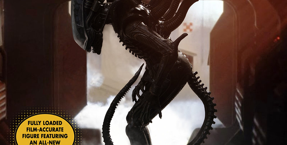 Mezco ONE:12 Collective Big Chap Alien DLX