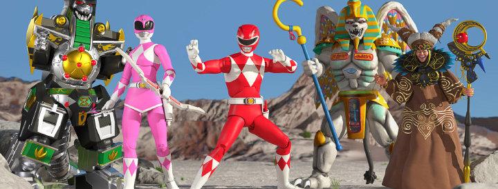Mighty Morphin Power Rangers Ultimates Wave 2 Set of 5 Figures